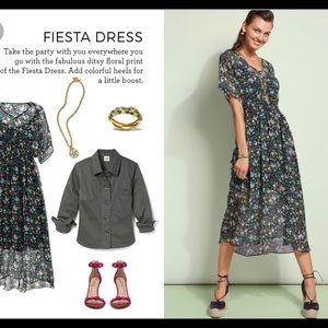 Cabi Fiesta Dress